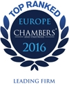 Ranked in Chambers Europe 2015